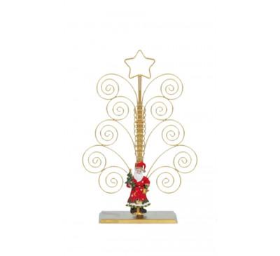 20 Card Santa Swirl Cardholder