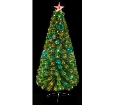 1.5M Multi Action Colour Changing Christmas Tree with Remote Control