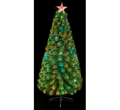 1.8M Multi Action Colour Changing Christmas Tree with Remote Control