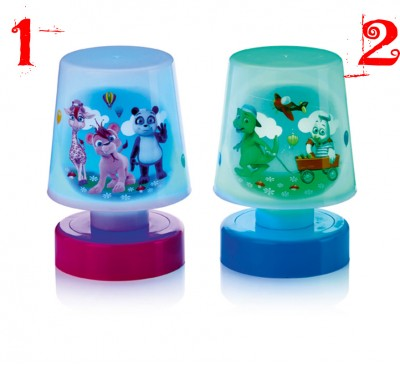 11x8cm LED Night Lamp which is Colour Changing