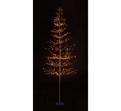 1.5m 240 Lights Micro LED Tree with Warm White LEDs