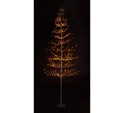 1.8m 384 Lights Micro LED Tree with Warm White LEDs