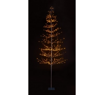 2.1m 424 Lights Micro LED Tree with Warm White LEDs