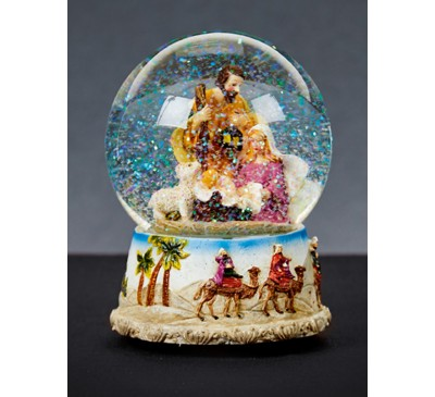 100mm Nativity Waterglobe