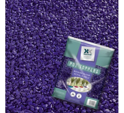 Pot Toppers Royal Purple Handy 5kg Bag