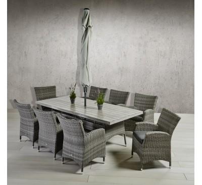 Rimini 8 Seat Dining Set