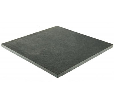 Sawn Limestone Slabs Charcoal Grey 400mm x 400mm