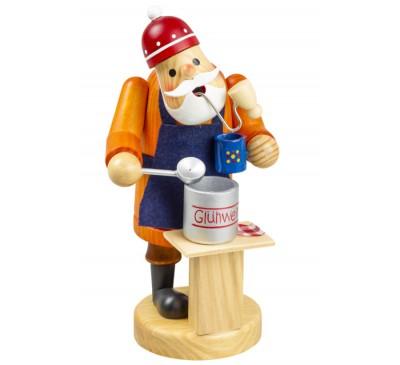 Spiced Wine Santa Insence Smokeman approx. 14 cm -