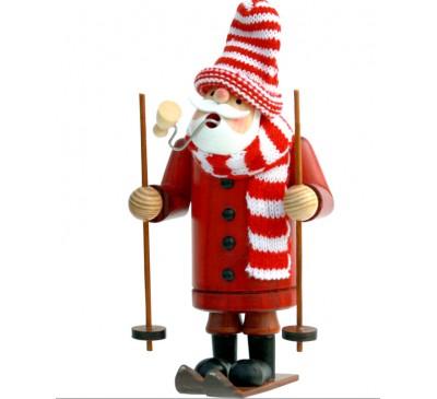 Skier Santa Insence Smokeman approx. 14 cm -
