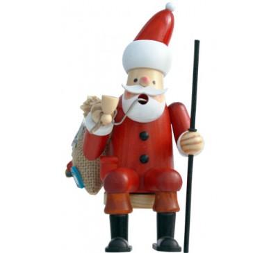 Insence Smoking man Shelf Sitter approx. 18 cm - Santa