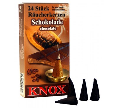 Smoking Insence Cones 24 Pack Chocolate scented