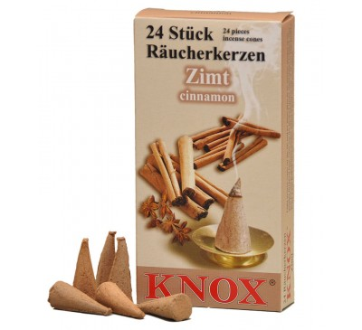Smoking Insence Cones 24 Pack Cinnamon scented