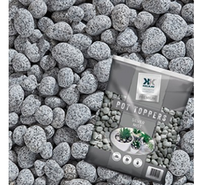 Pot Toppers Silver Mist Handy 25kg Bag )