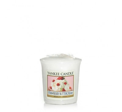 Yankee Strawberry Buttercream Votive