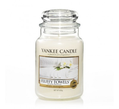 Yankee Fluffy Towels Large Jar