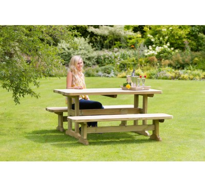 Madison Table and Bench Set