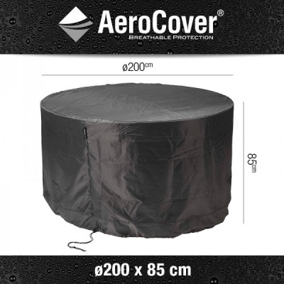 Aerocover Garden Furniture Set Cover Round 200 x 85cm