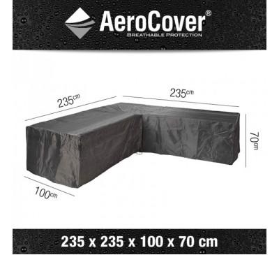Aerocover Lounge Set Cover Corner L-shape 235 x 235 x 100 x 70cm