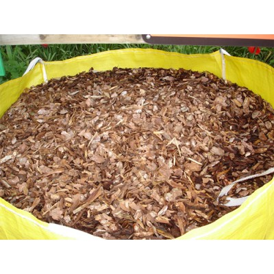 Golden Pine Bark Chippings