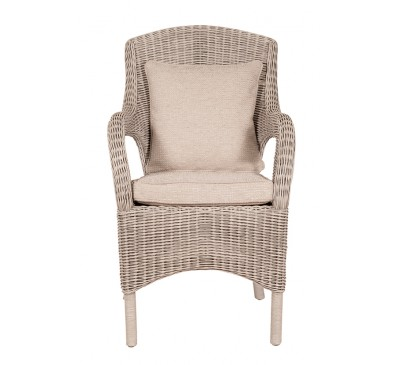 Calabria Chair White Wash