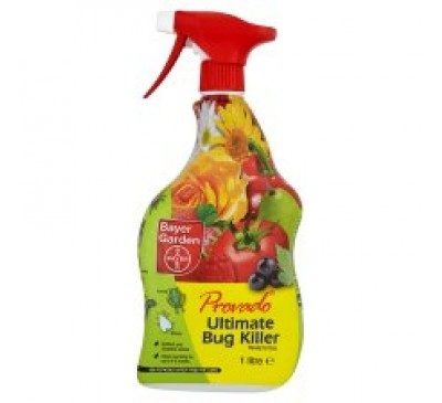 Provado Ultimate Bug Killer Ready to Use Spray 1litre