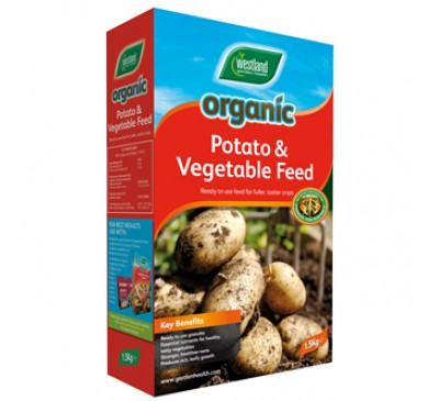 Westland Organic  Potato and Vegetable Feed 1.5kg