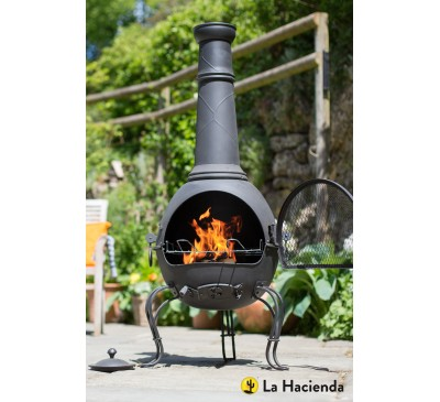 Murcia Extra Large Steel Chiminea