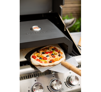 BBQ Pizza Oven in Black