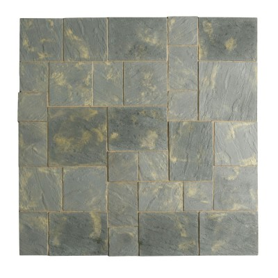 Abbey Paving Patio Kit 5.76 Square Metres Antique