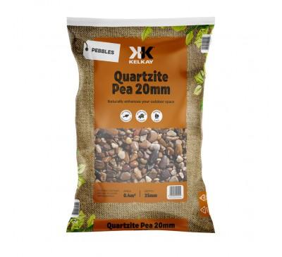 Quartize Pea Gravel 20mm