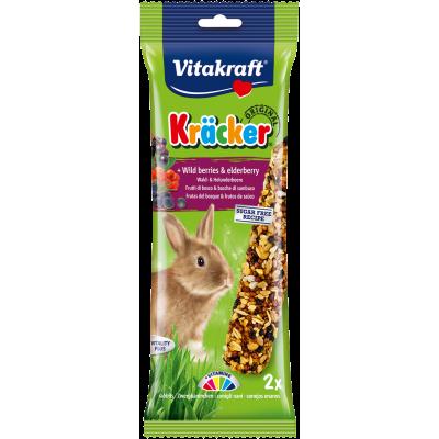 Vitakraft Kräcker Original + Wild Berries & Elderberry Rabbit 2pcs