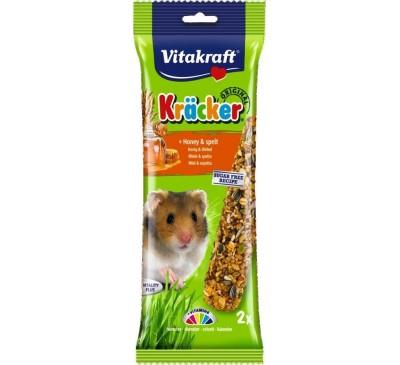 Vitakraft Kräcker Original + Honey & Spelt Hamster 2pcs