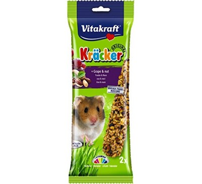 Vitakraft Kräcker Original + Grape & Nut Hamster 2pcs