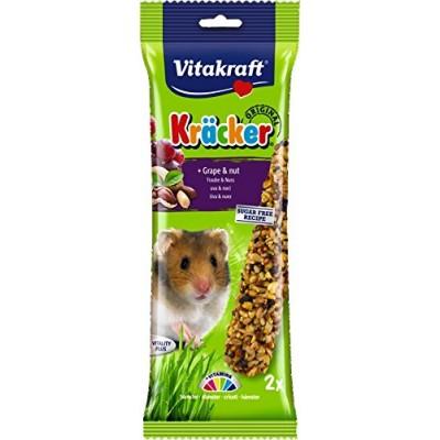 Vitakraft Kräcker Original + Grape & Nut Hamster 2pcs
