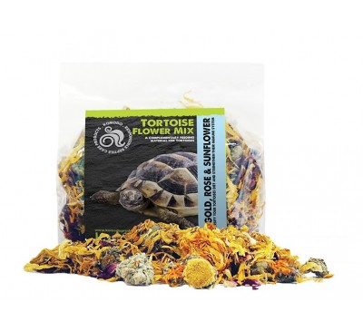 Komodo Tortoise Flower Mix 60g