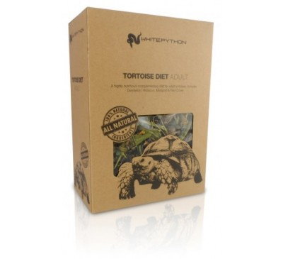 White Python 100% Natural Tortoise Diet Adult 95g