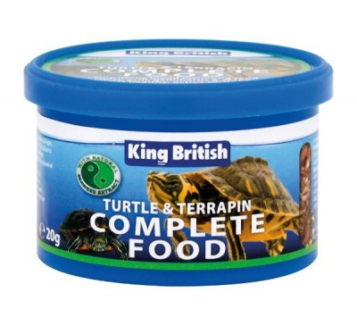 King British Turtle & Terrapin Complete Food 20g/80g/200g