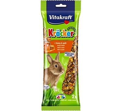 Vitakraft Kräcker Original + Honey & Spelt Rabbit 2pcs
