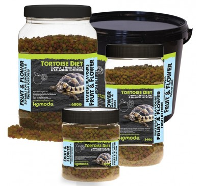 Komodo Tortoise Diet Fruit & Flower 170g/340g/680g/2kg