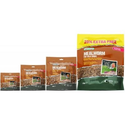 Gardman Mealworm Pouch 200g/400g/800g/1.5kg