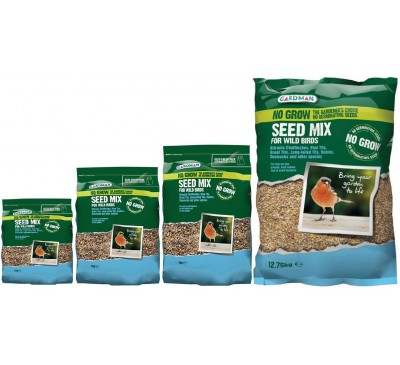 Gardman No Grow Seed Mix 1kg/2kg/4kg/12.75kg