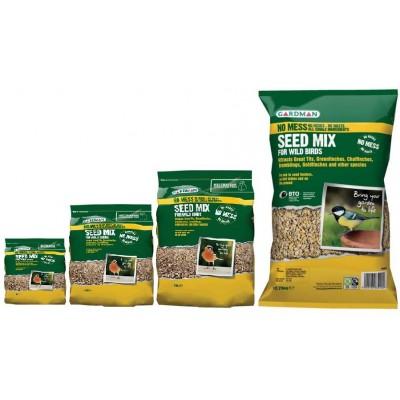 Gardman No Mess Seed Mix 1kg/2kg/4kg/12.75kg