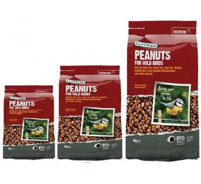 Gardman Whole Peanuts 1kg/2kg/4kg