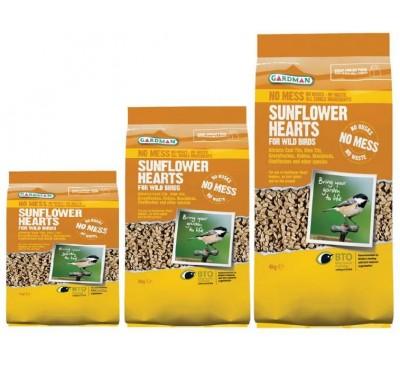 Gardman Sunflower Hearts 1kg/2kg/4kg