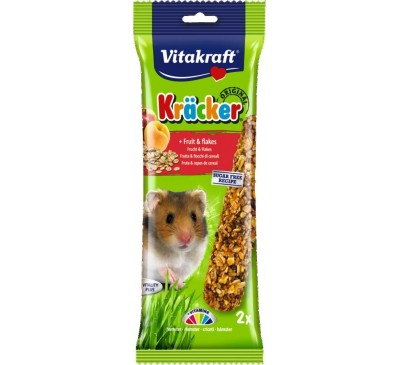 Vitakraft Kräcker Original + Fruit & Flakes Hamster 2pcs
