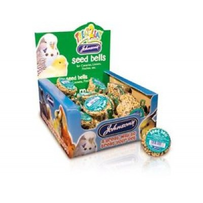 Johnson's Treat2eat Canary /Finch Seed Bell 34G