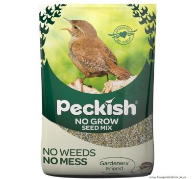 Peckish No Grow Bird Seed Mix 12.75kg