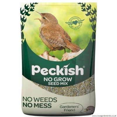 Peckish No Grow Bird Seed Mix 1.7kg