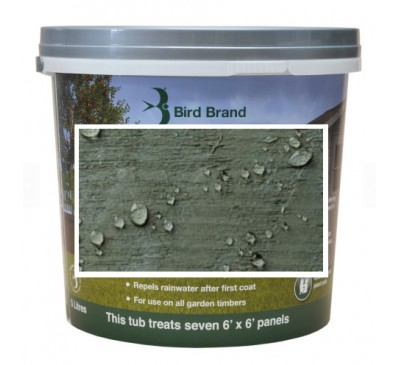 Bird Brand Shed & Fence One Coat Protection Willow Green 5 litres