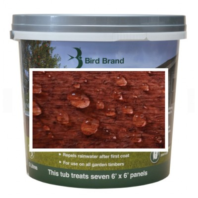 Bird Brand Shed & Fence One Coat Protection Red Cedar 5 litres